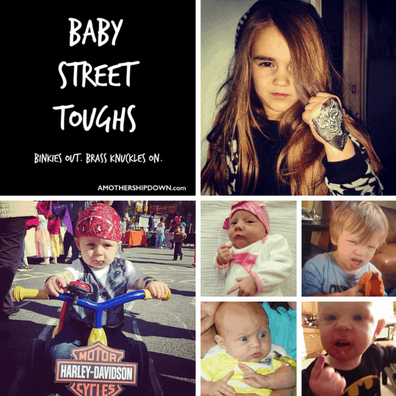 "And the ""Baby Street Toughs"" Winner Is….."