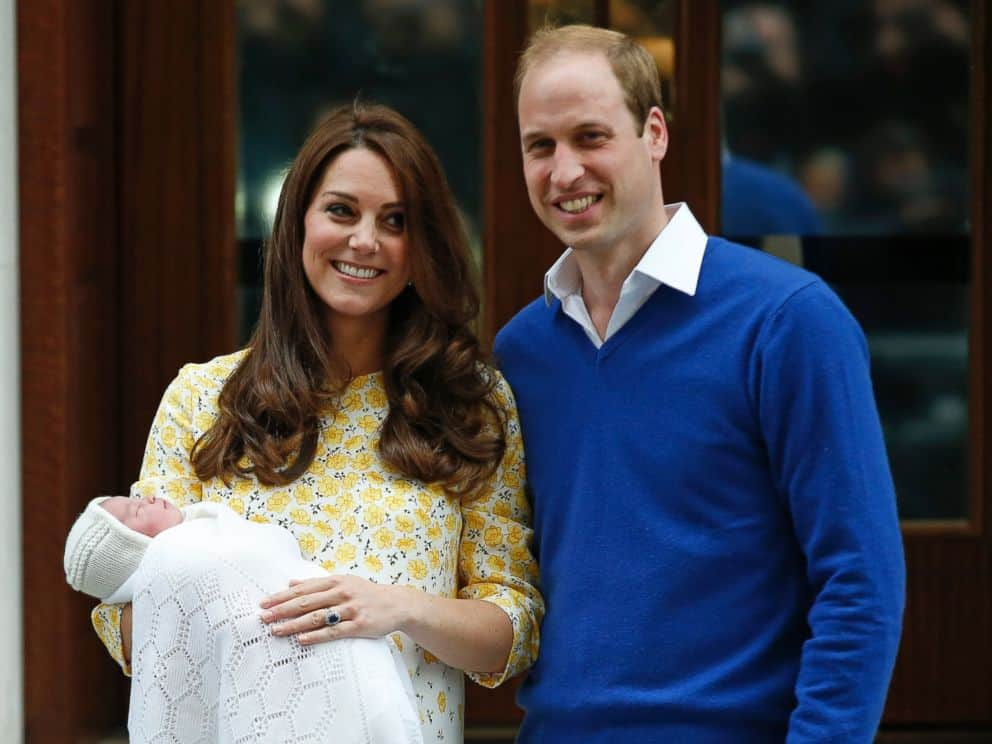 Kate Middleton, My Mesh Post-Partum Underwear Salute You